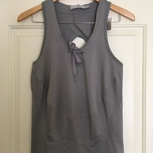 Adidas by Stella McCartney Gray Tank Top tie S